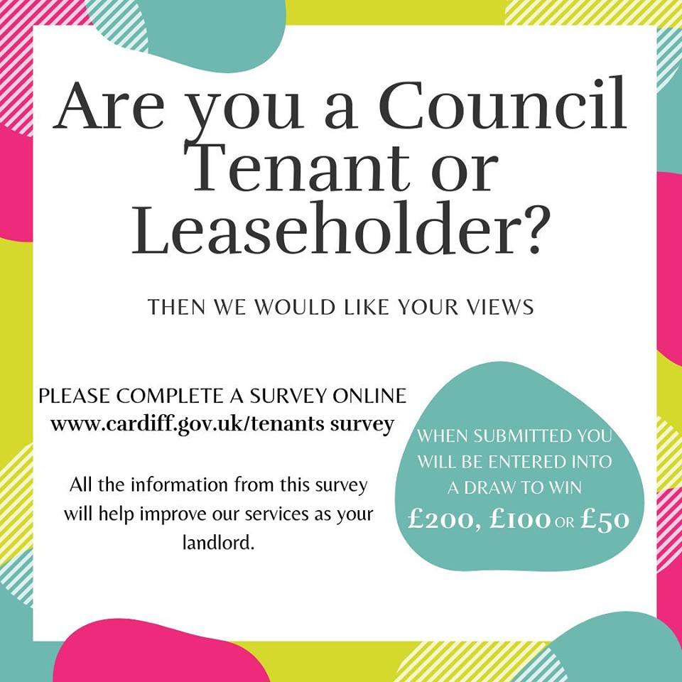 Tenant views poster - read article for details