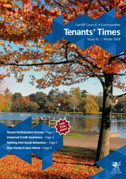 Cover of Tenants Times Issue 45